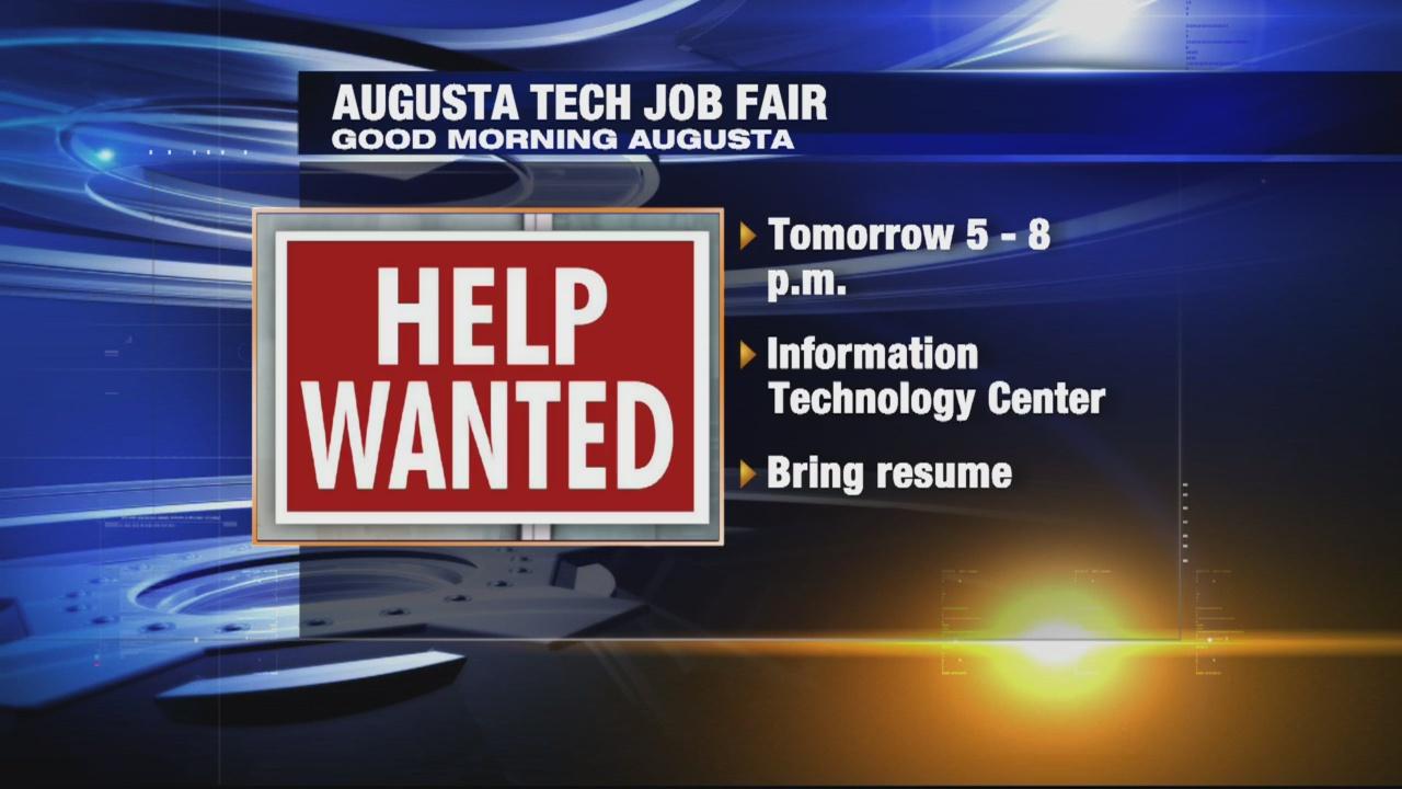 Augusta Tech job fair_331779