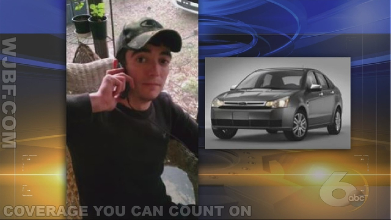 Friends of missing man searching for him.