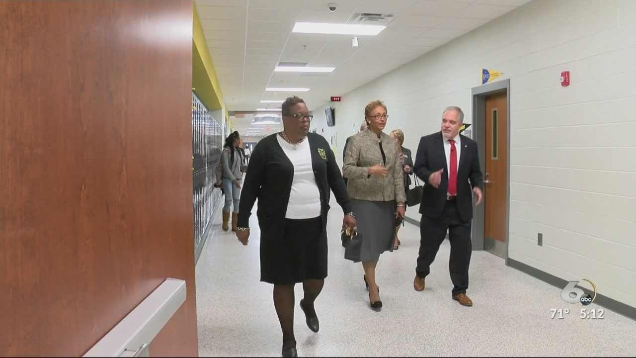 National program's success in Richmond County brings State Superintendent