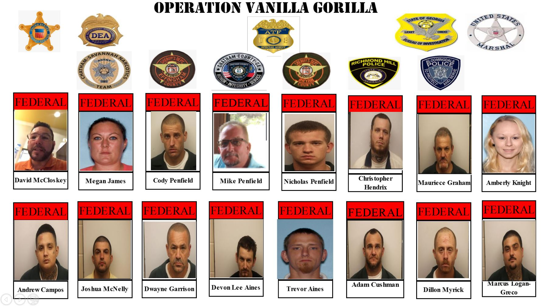 Over 40 indicted, linked to white supremacist gang in