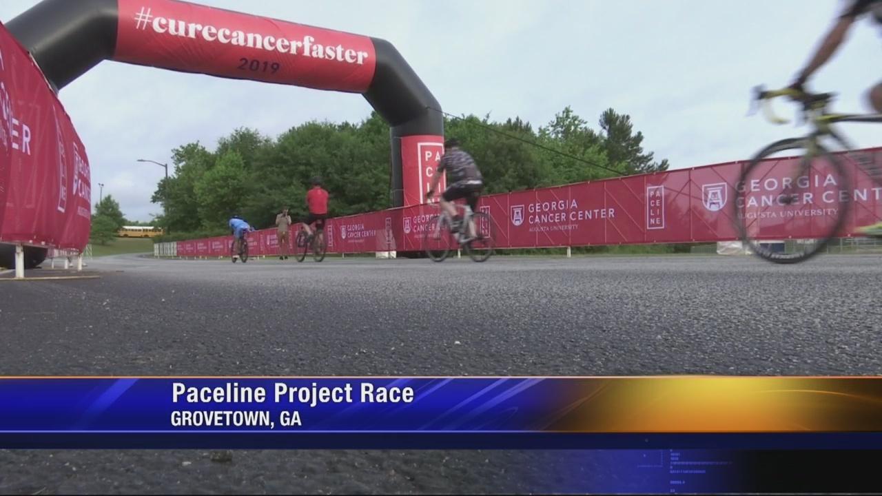 More than 250 cyclist ride around Augusta to #curecancerfaster