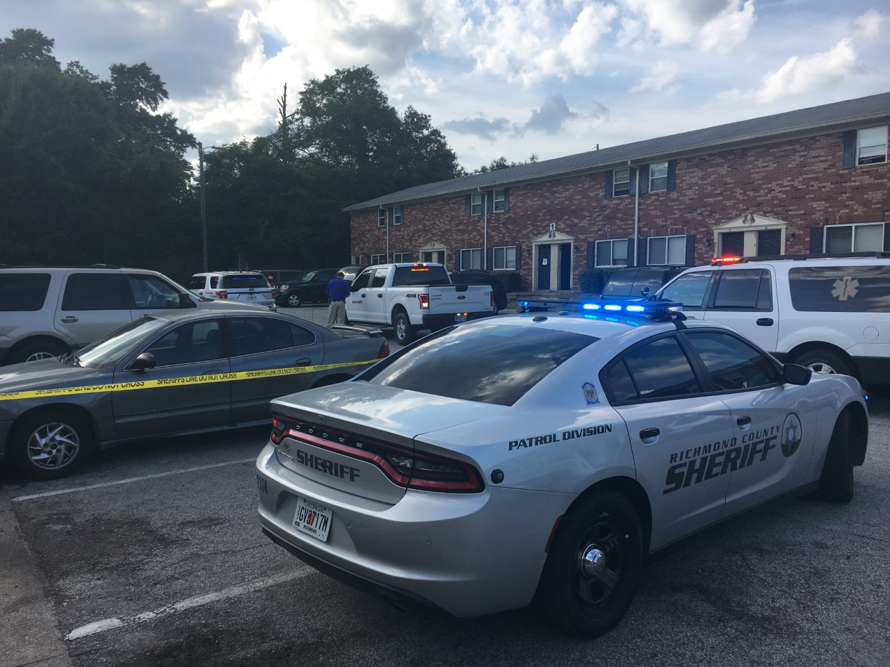 Updated Shooting At Magnolia Park Apartments