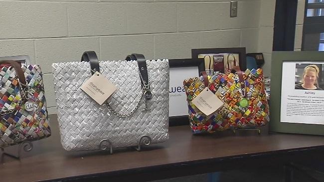 Inmates at Davidson County jail weave dreams into unique purses
