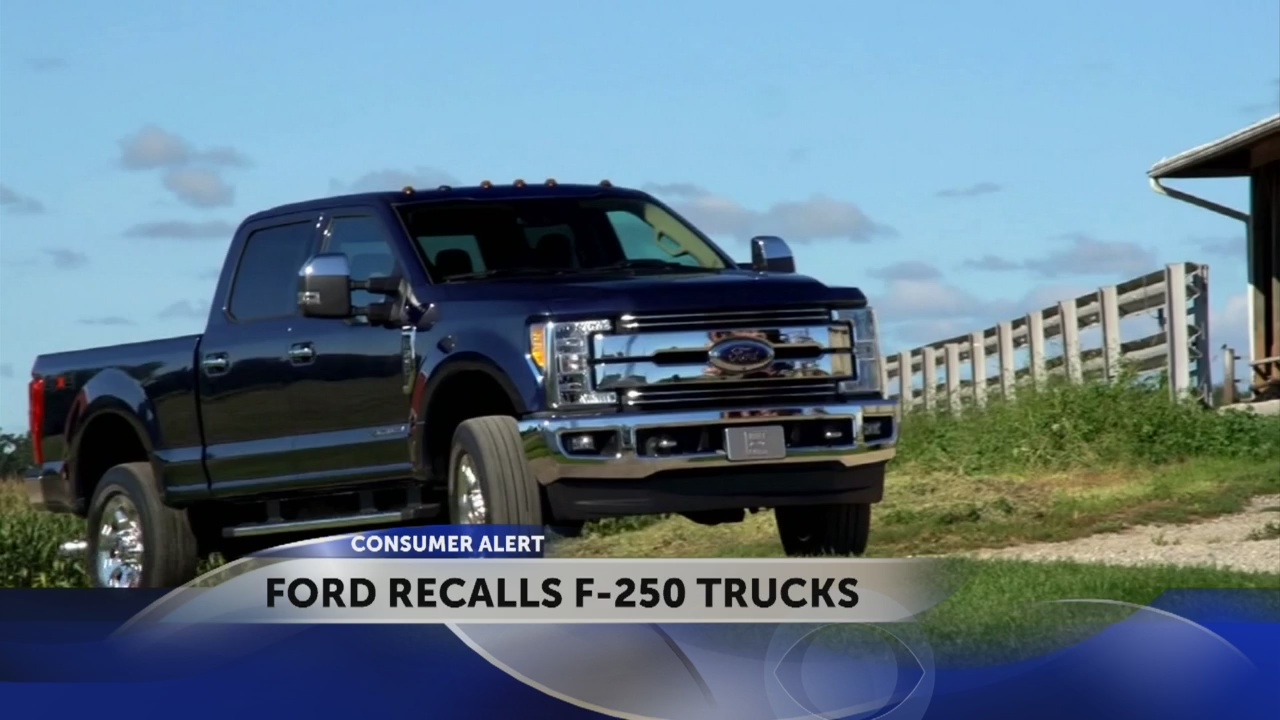 Ford recall f-250 parking break_308865