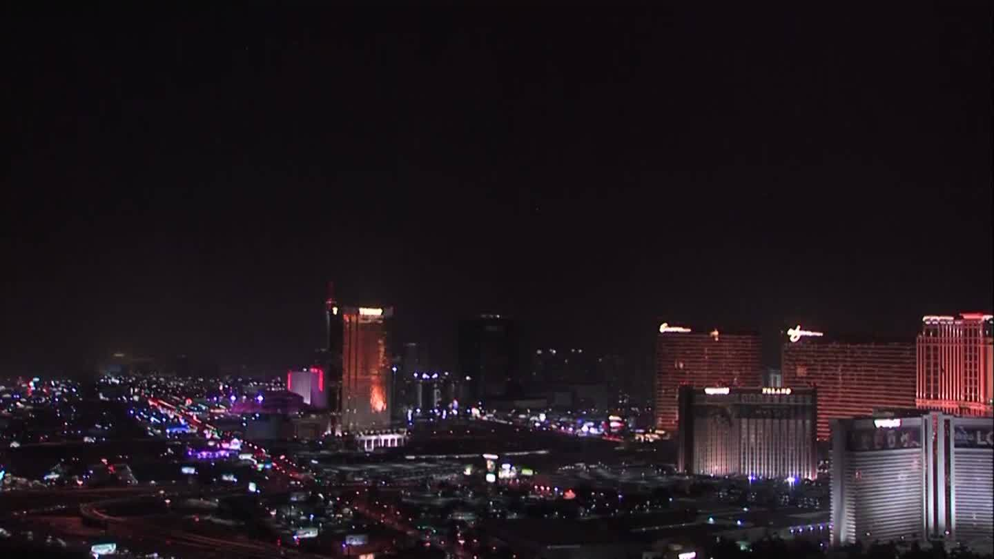 COOL VIDEO: Dust storm hits Las Vegas