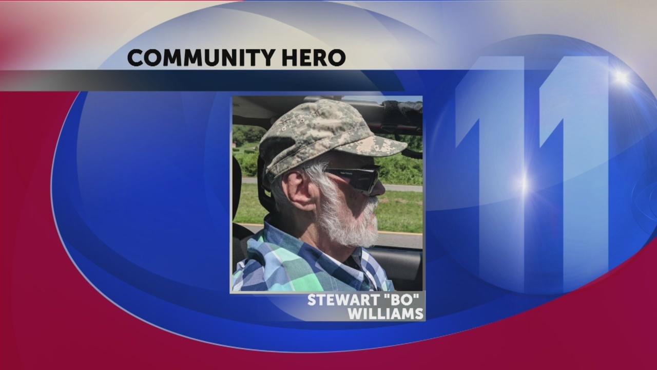 Community Hero: Stewart 'Bo' Williams