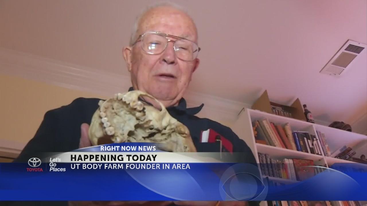 Dr. Bill Bass to visit Kingsport, TN