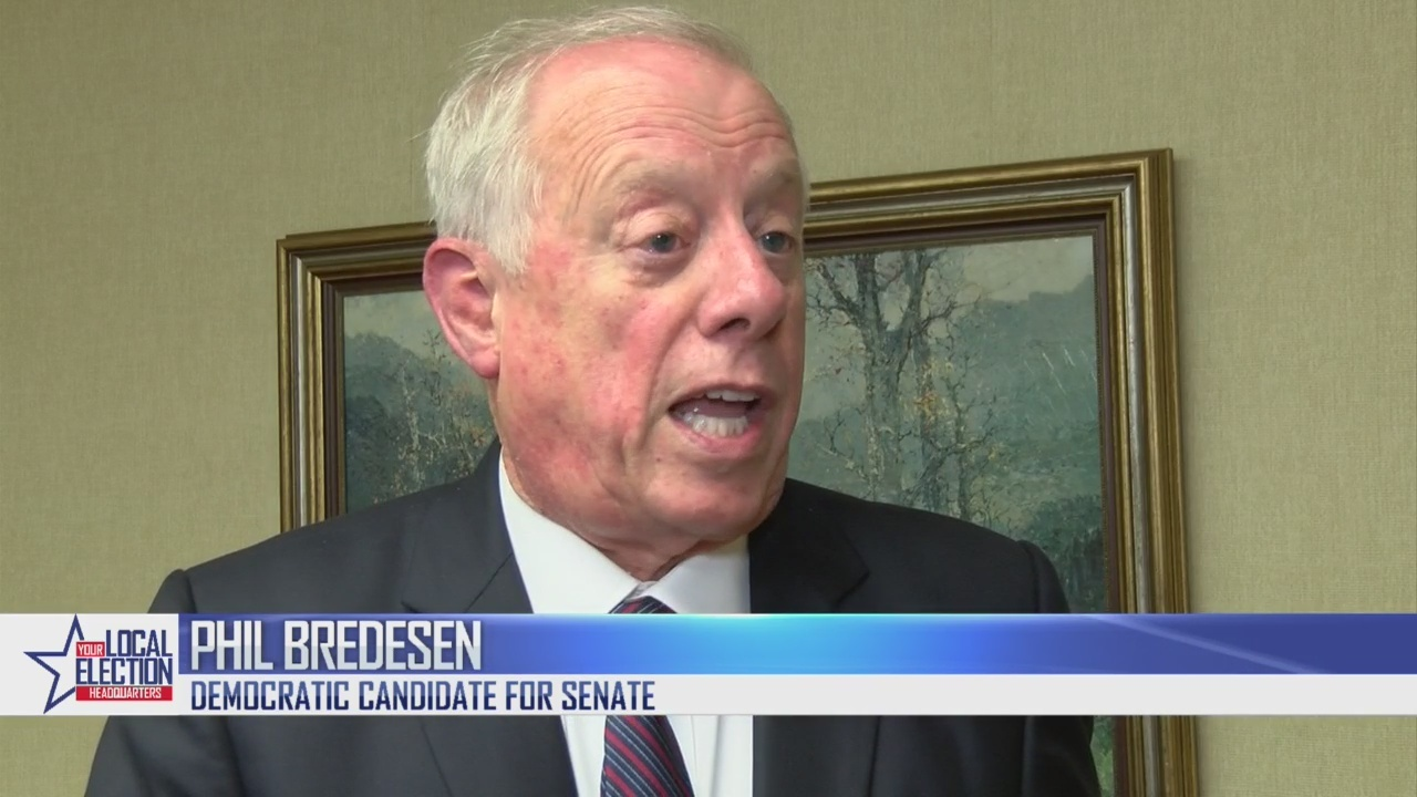 Democratic Senate Candidate Phil Bredesen responds to Taylor Swift's endorsement