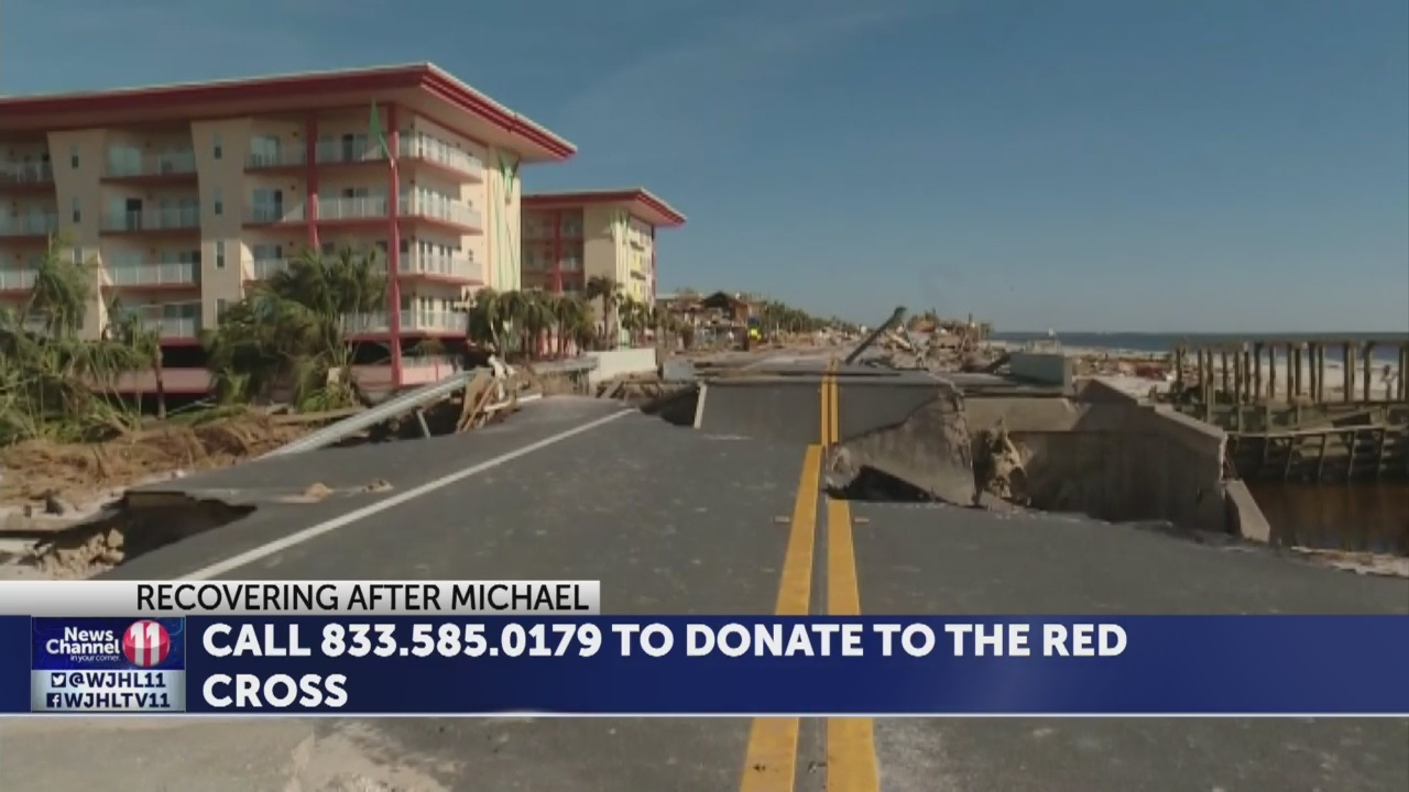 HELPING AFTER MICHAEL: Donate now to American Red Cross