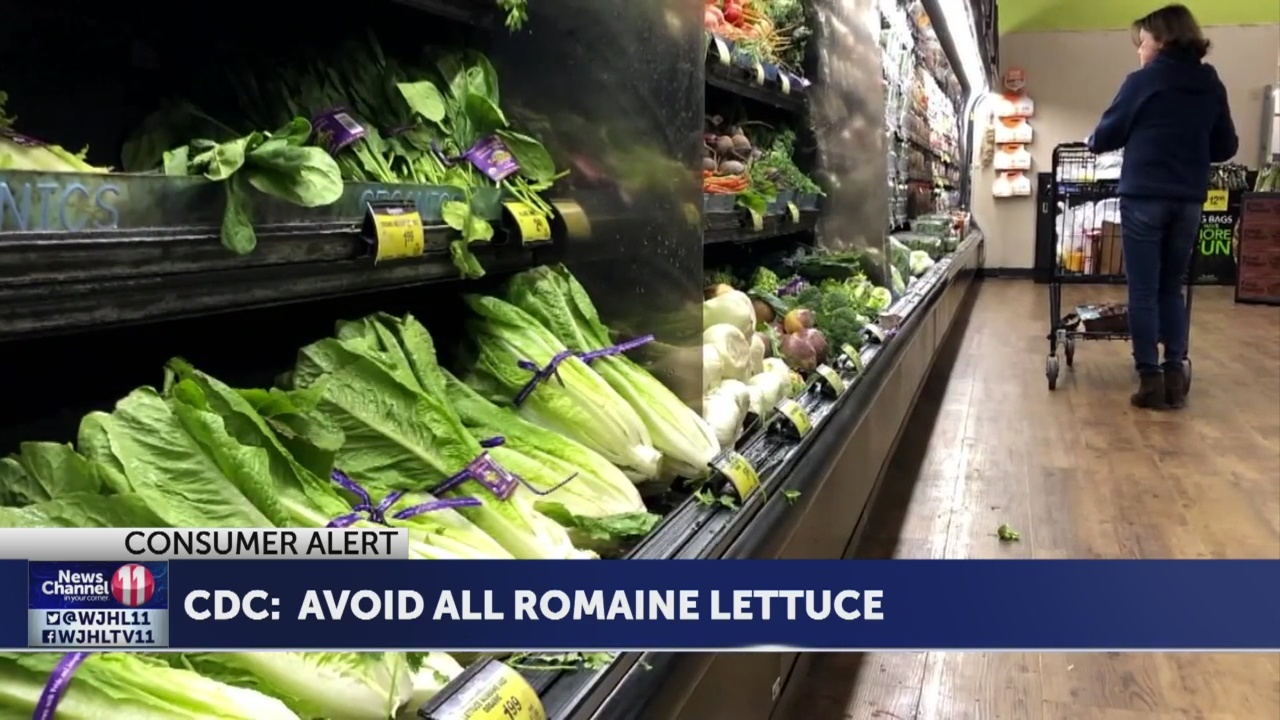 CDC advises not to eat romaine lettuce after E. colioutbreak sickens 32 in 11 states