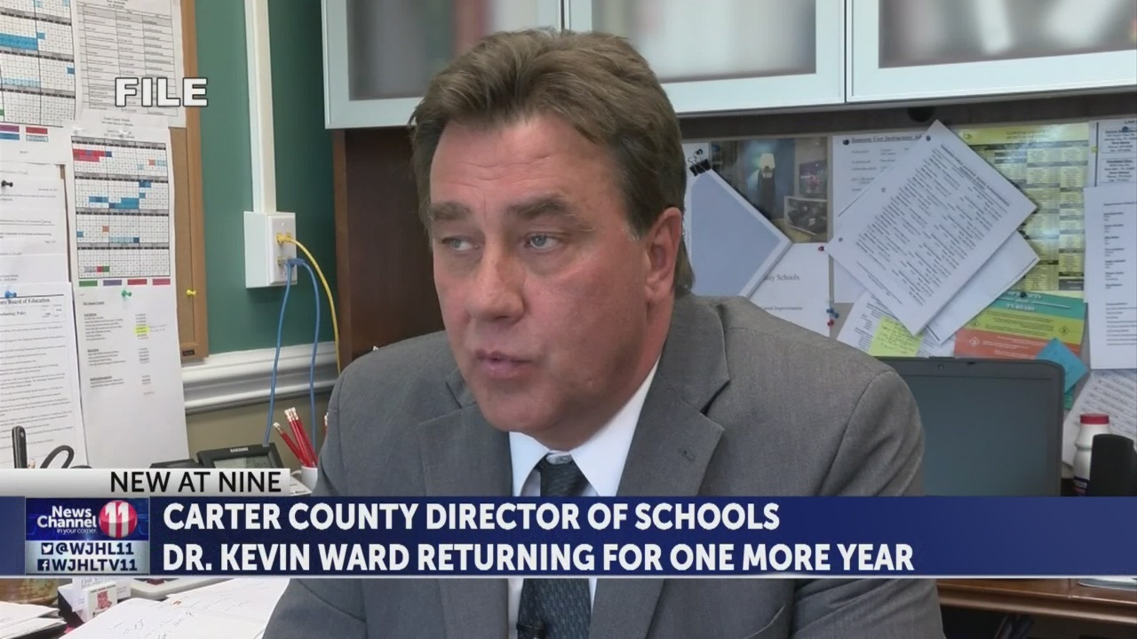Dr. Kevin Ward returns to school system for one more year