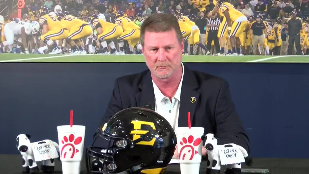 ETSU coach Randy Sanders on class of new recruits