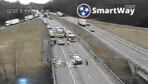 KPD: Avoid I-81 north in Kingsport due to crashes