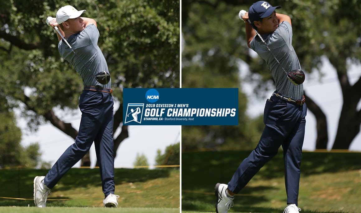 ETSU golfers Rhea and Go conclude play at Stanford Regional