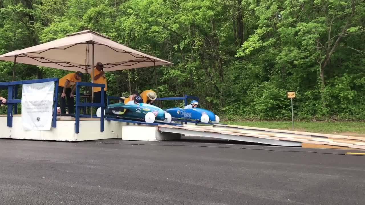 Box Car derby at Borla