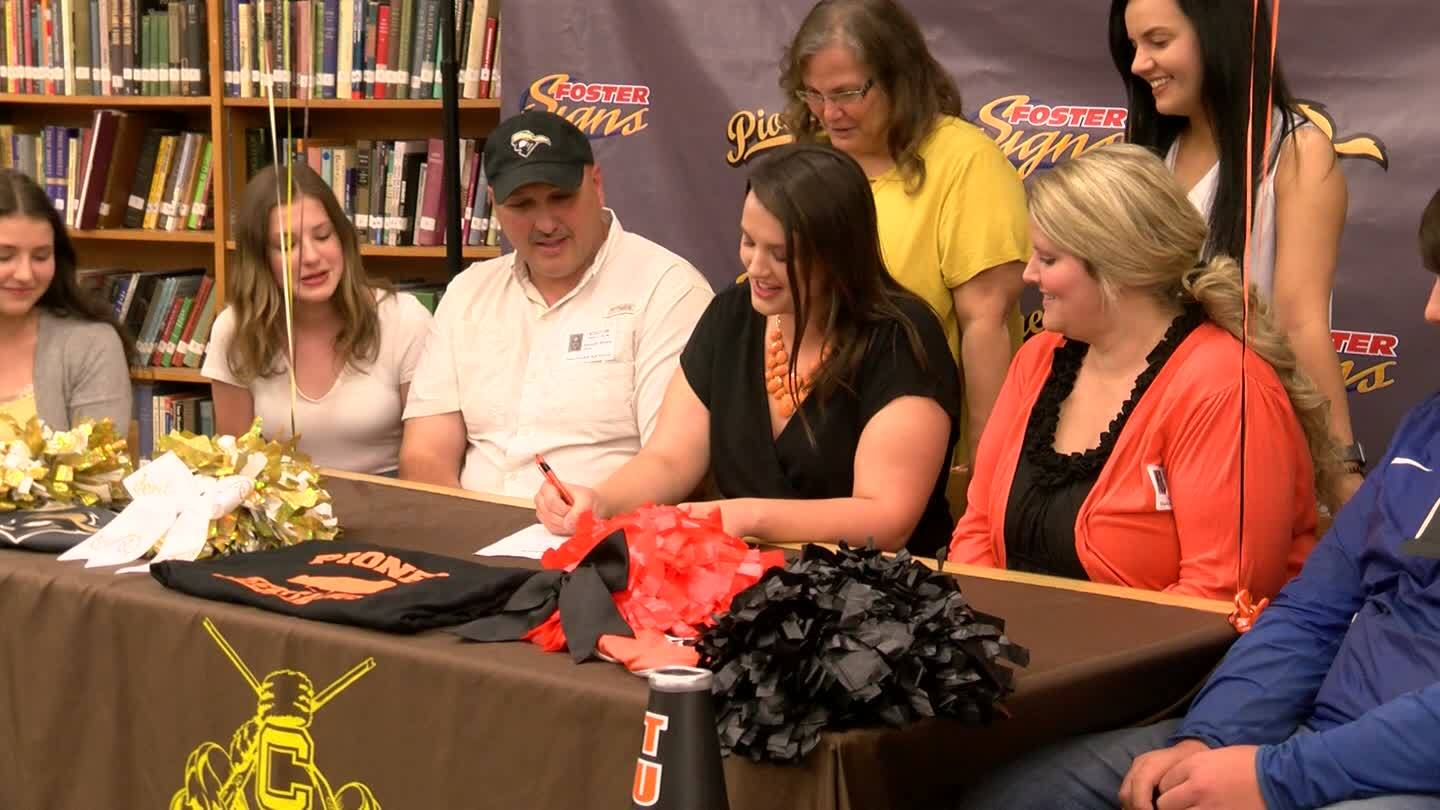 Jessica Silvers signs with Tusculum