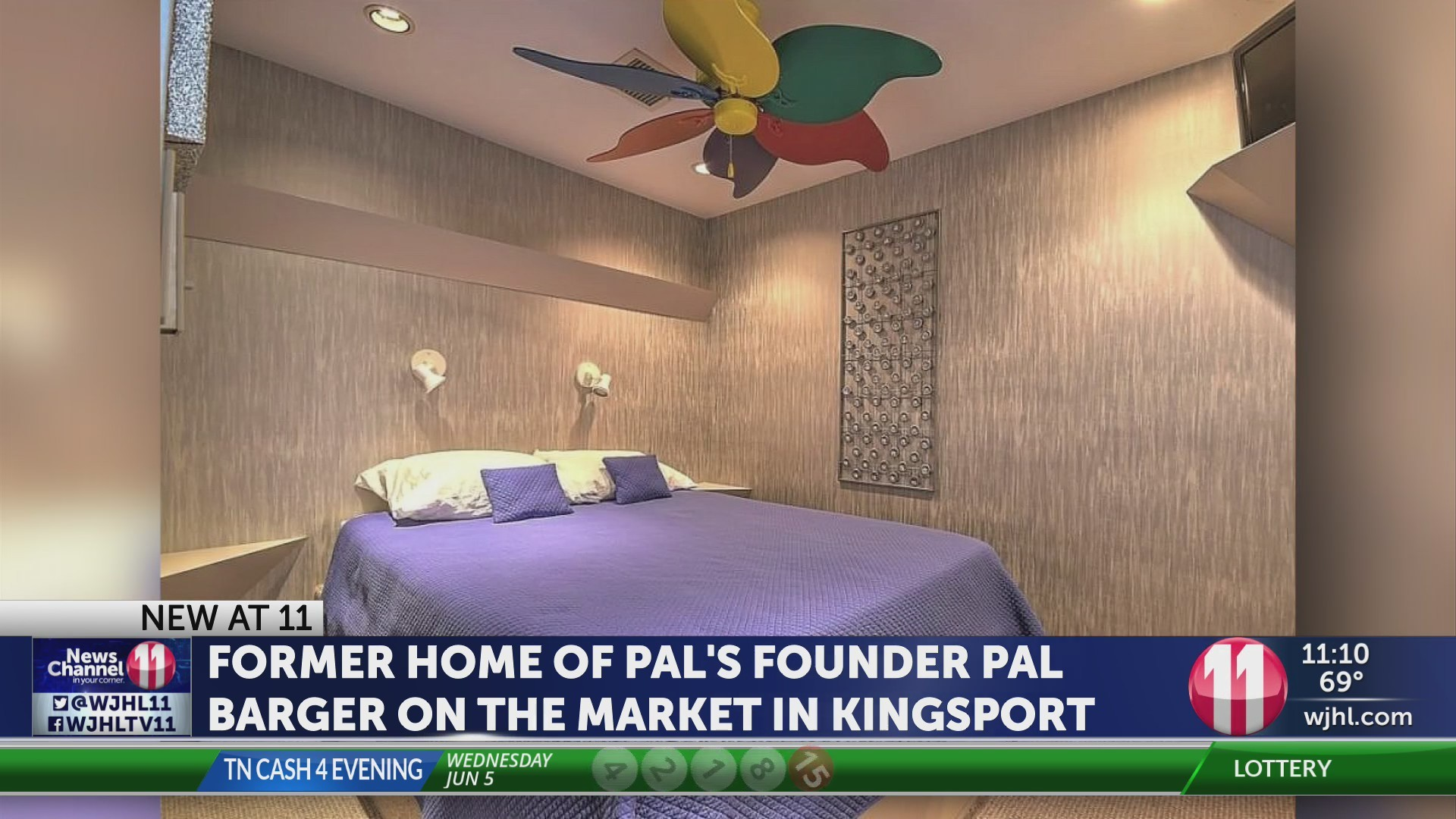 Home of Pal's founder for sale in Kingsport