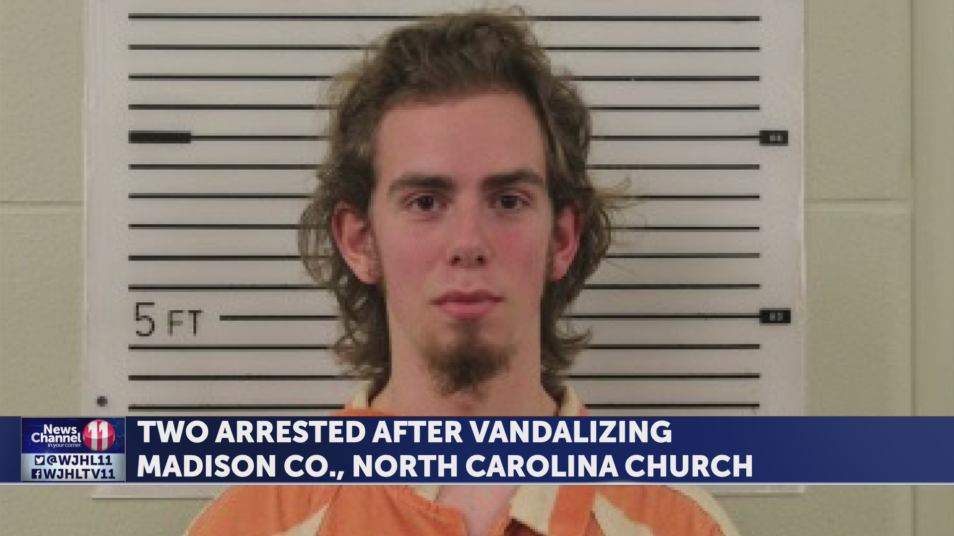 Two arrested after vandalizing Madison Co., NC church