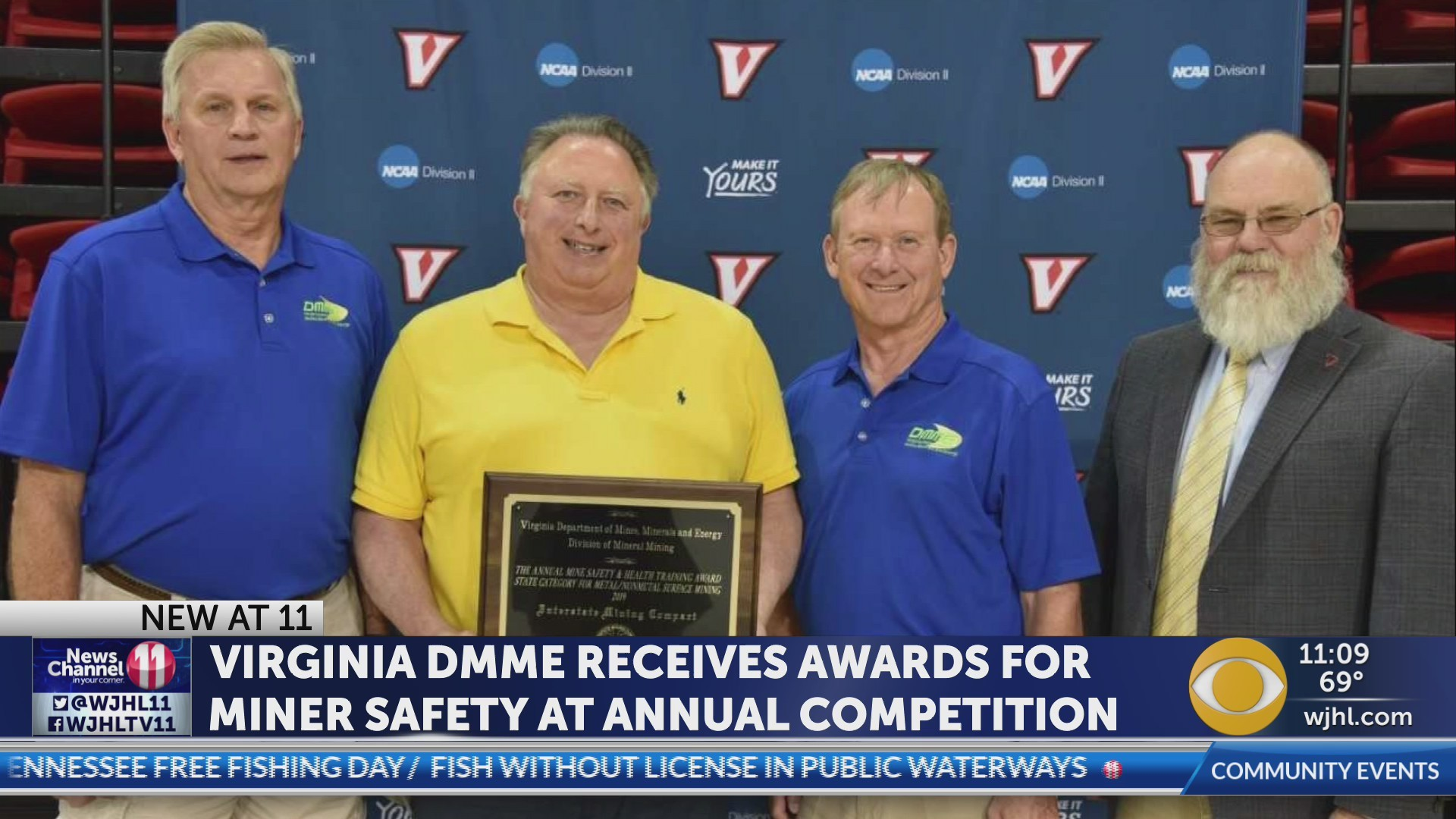 Virginia DMME receives awards for miner safety at annual competition
