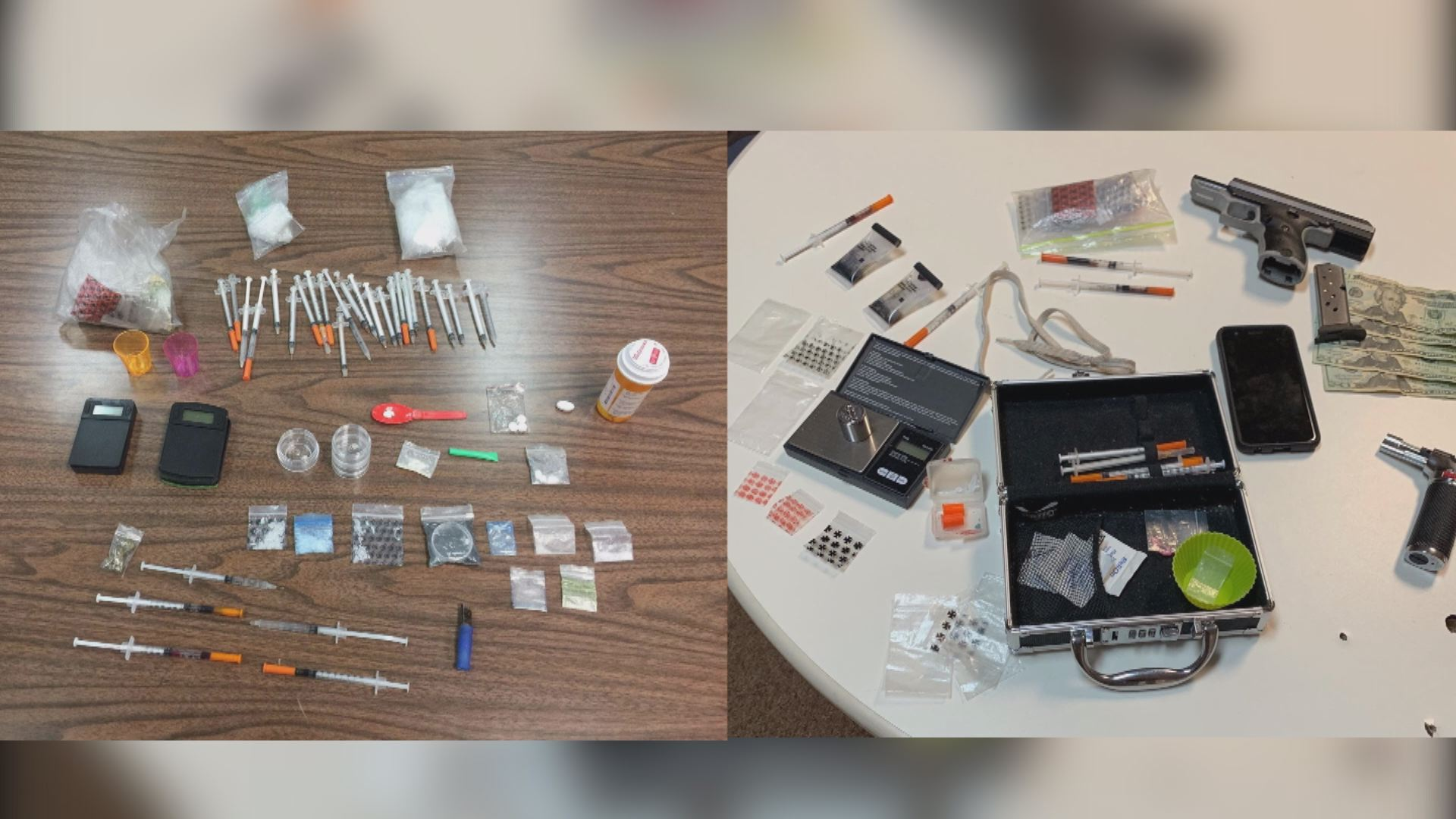 Vehicle stop in Scott County, VA leads to multiple drugs
