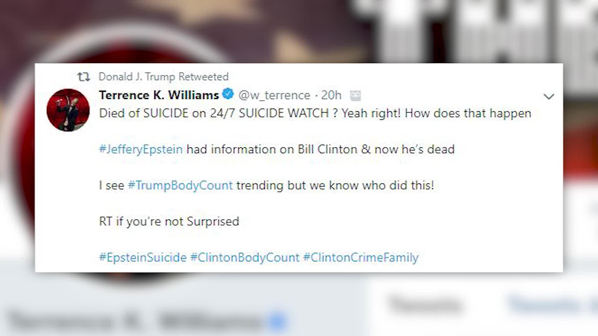 Epstein suicide sparks fresh round of conspiracy theories   WJHL
