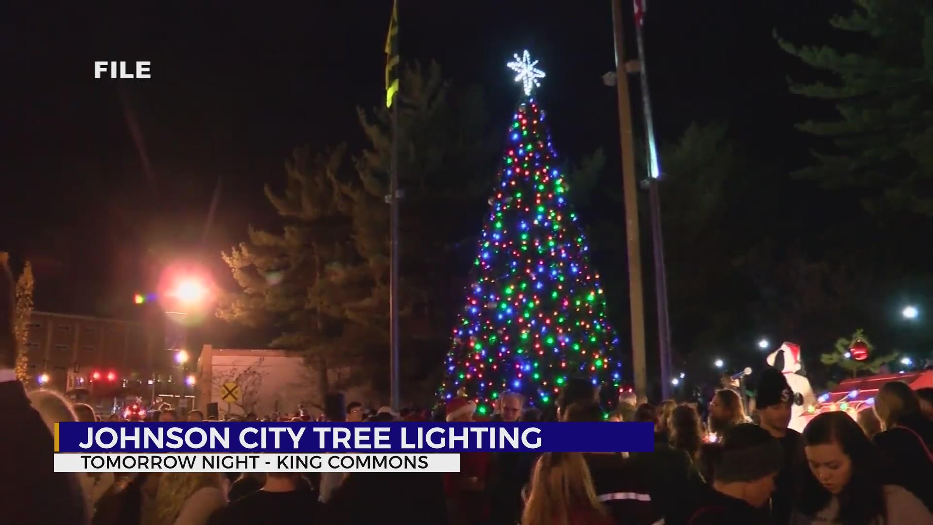 Tri Cities Tn Christmas Eve Events 2020 Johnson City prepares for downtown Christmas Tree Lighting Friday