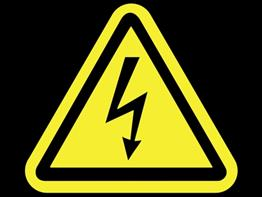 Electricity danger sign_92360