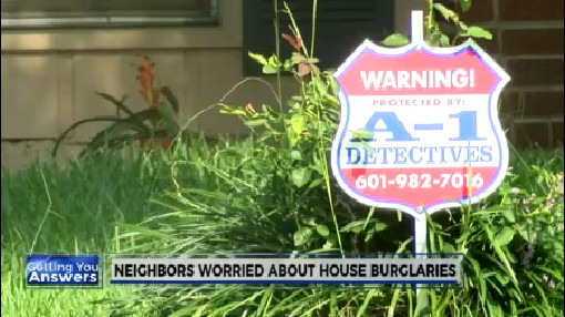 Neighbors worried about house burglaries_197911