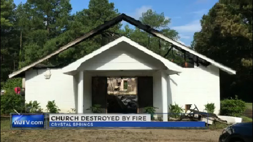Church destroyed by fire_204148