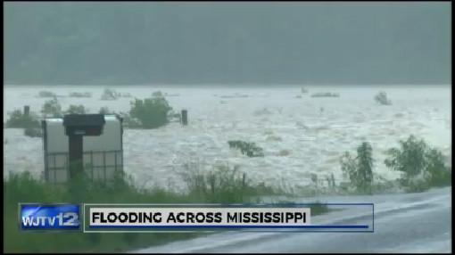 Flooding Across Mississippi_203288