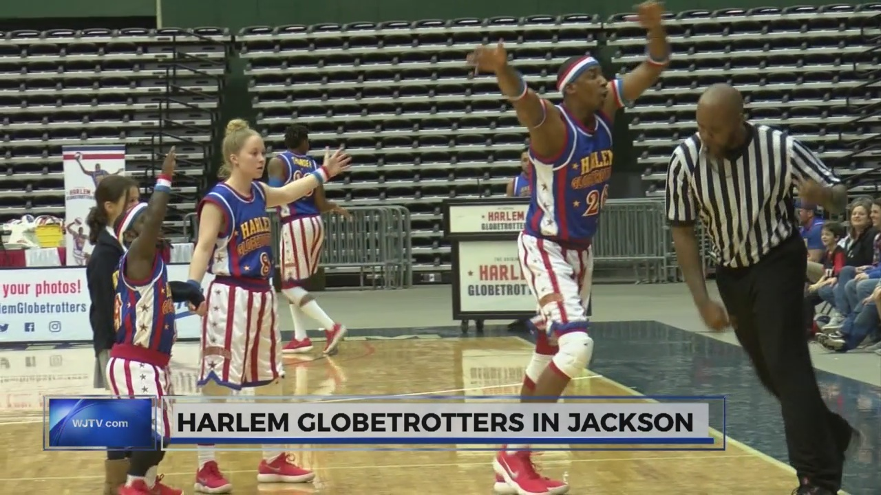 Harlem Globetrotters come to Jackson