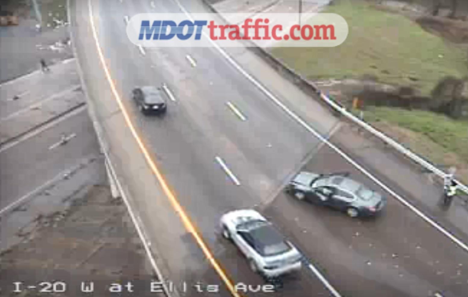 TRAFFIC: Crash on I-20 before I-55 exit