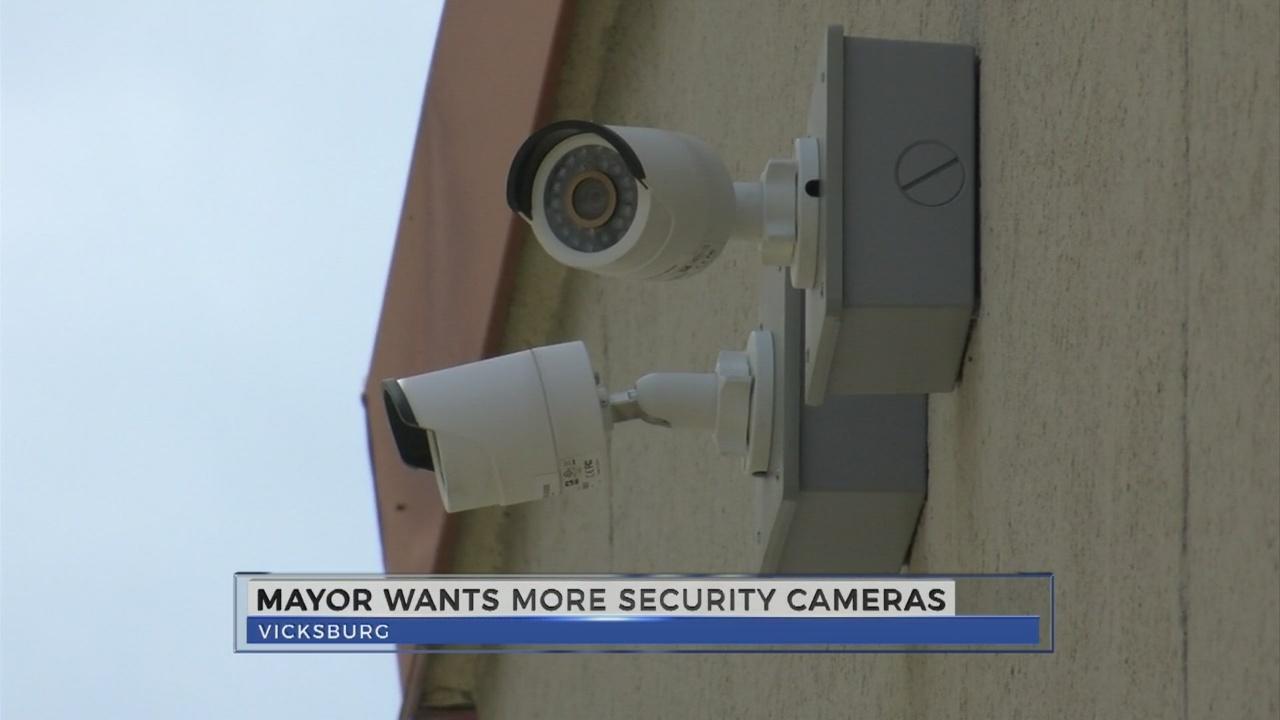 Vicksburg Mayor wants more security cameras