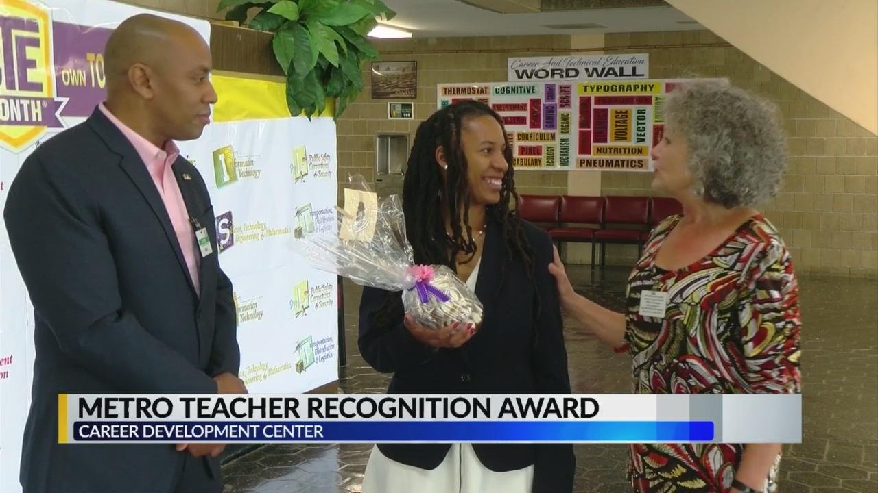 Greater Jackson Chamber Honors Teacher