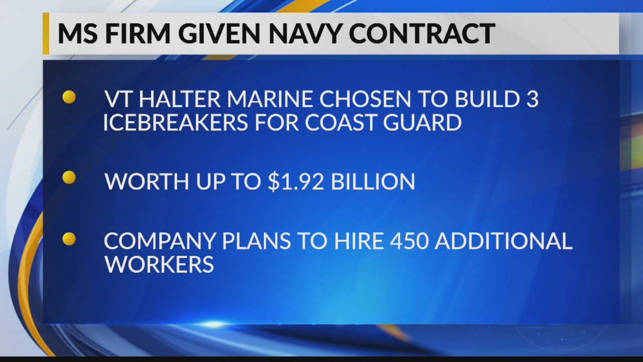 Halter Marine Lands Massive Contract