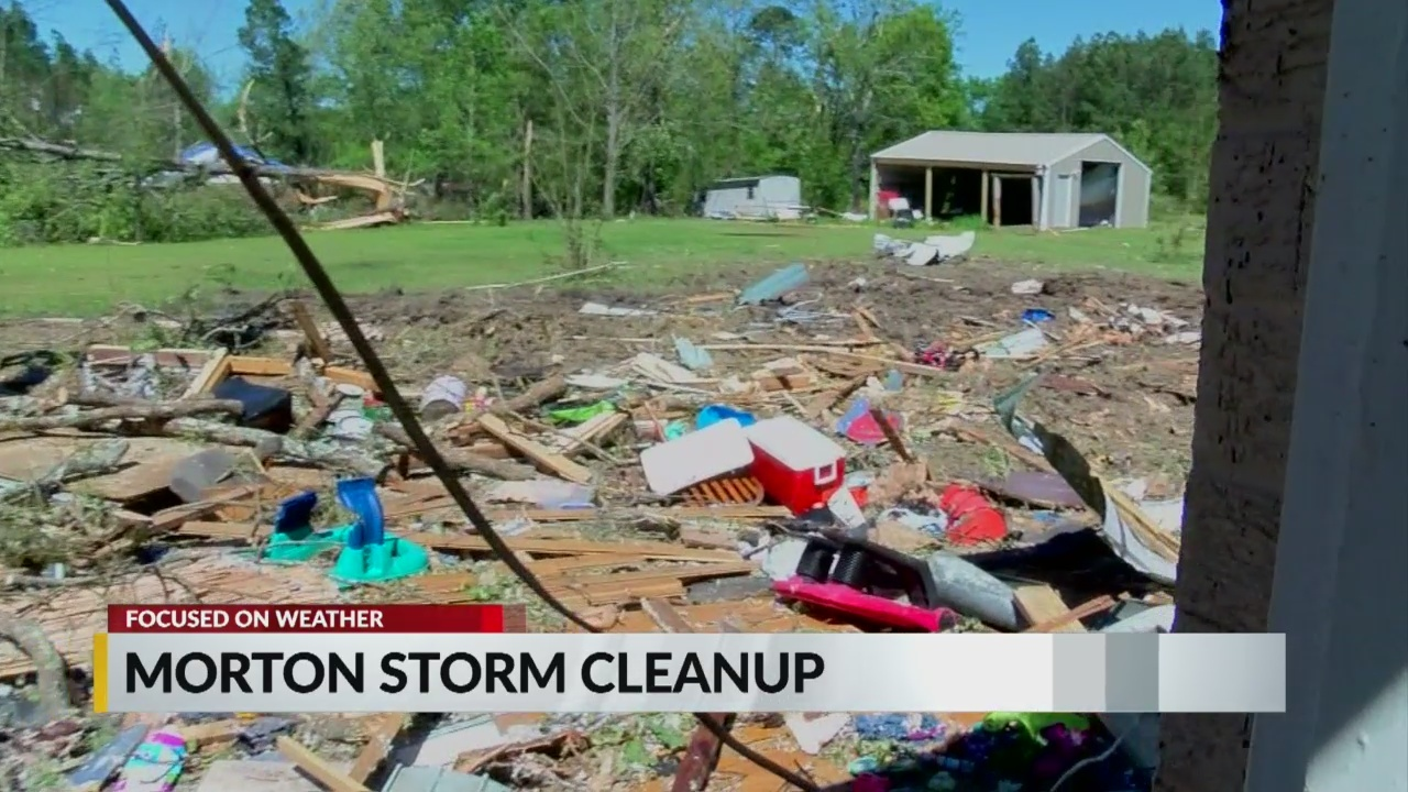 Morton neighbors begin to recover from storm