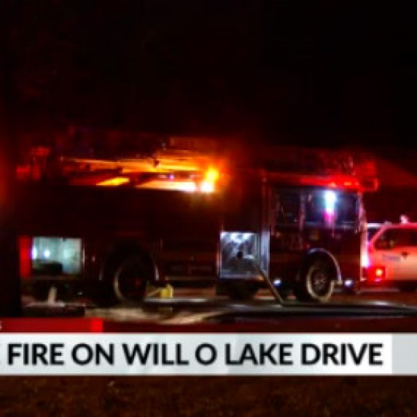 House fire Will O Lake