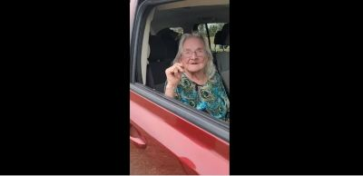 WATCH: 91-year-old woman sleeps in vehicle for two months during recovery from Hurricane Laura