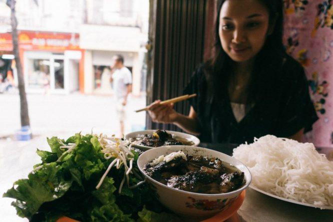 Bun Cha - Hanoi Street Food