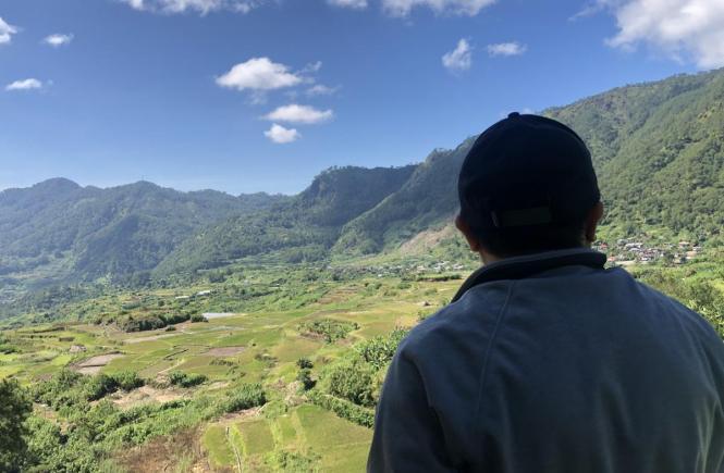 Overlooking Breakfast Spot Sagada