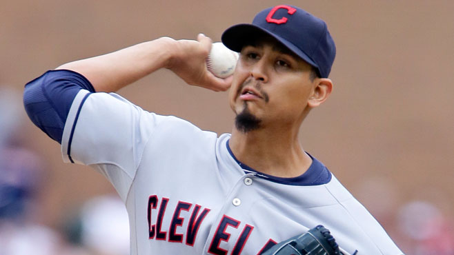 Cleveland Indians' Carlos Carrasco_148597