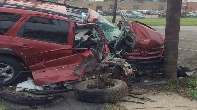 Driver and cat injured in Youngstown crash
