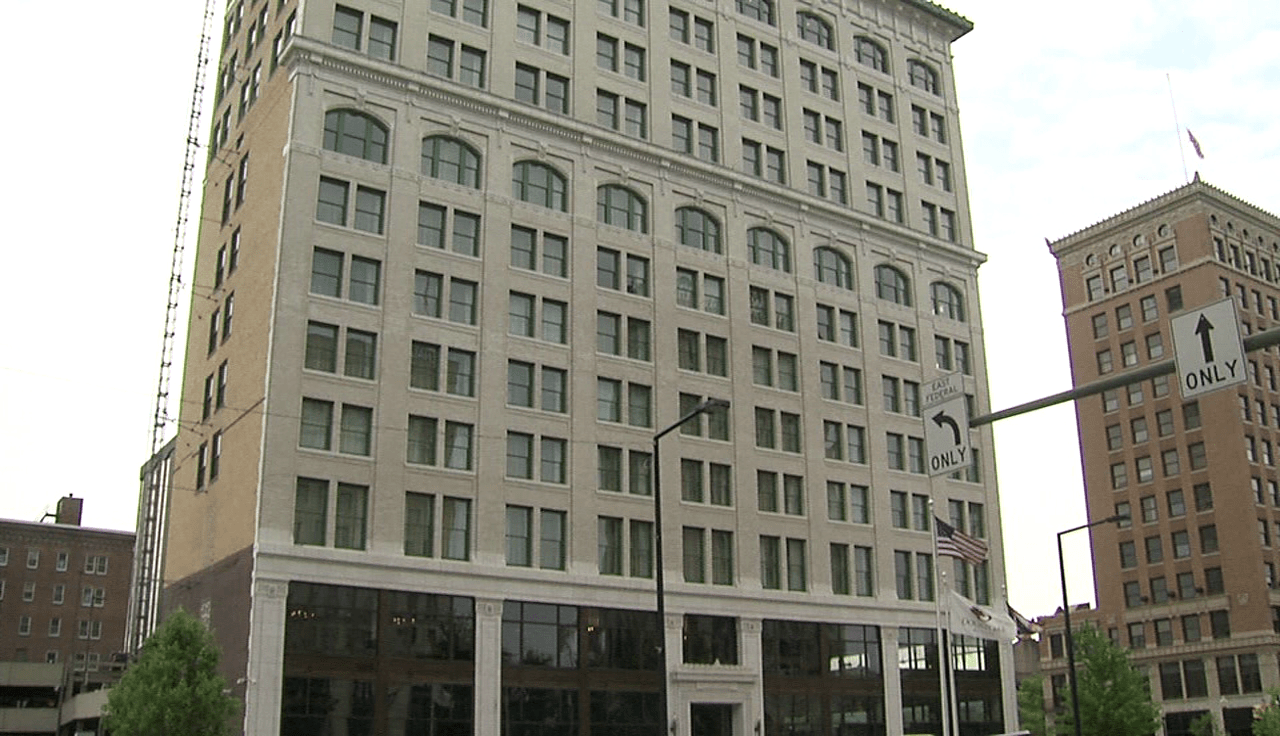 DoubeTree hotel in Youngstown, Ohio