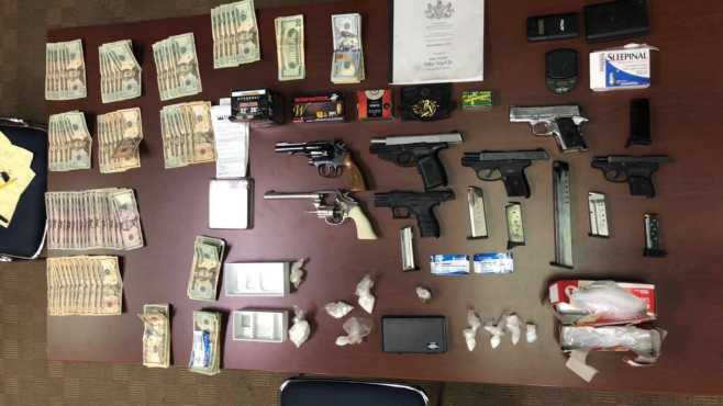 Police: Three arrested in New Castle drug raid