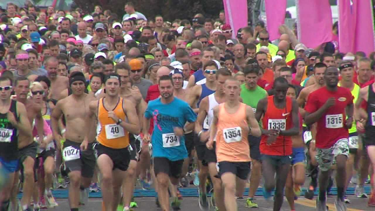 Panerathon, downtown Youngstown
