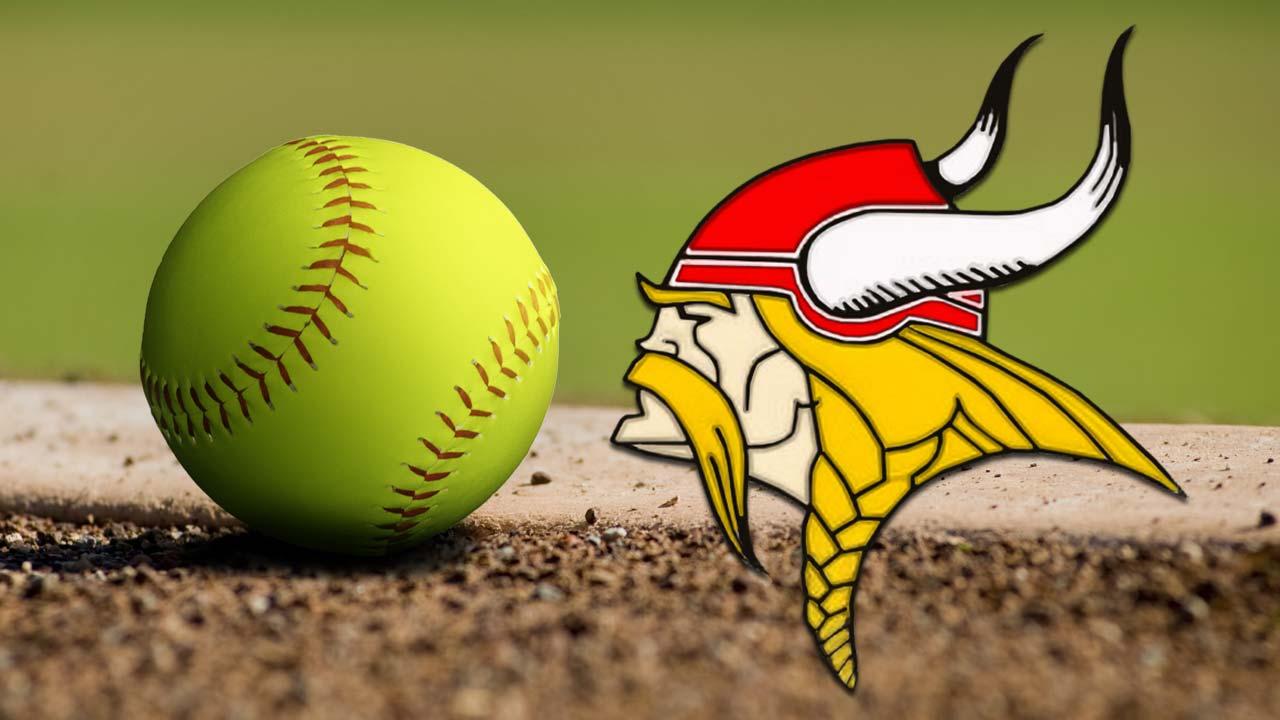 Labrae Vikings softball