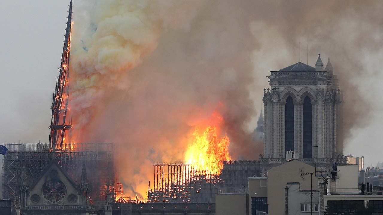 Notre Dame Cathedral Fire 3