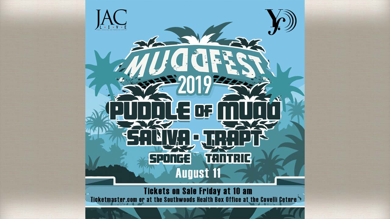MuddFest coming to Youngstown Foundation Amphitheatre