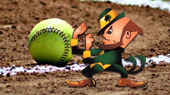Ursuline Irish softball
