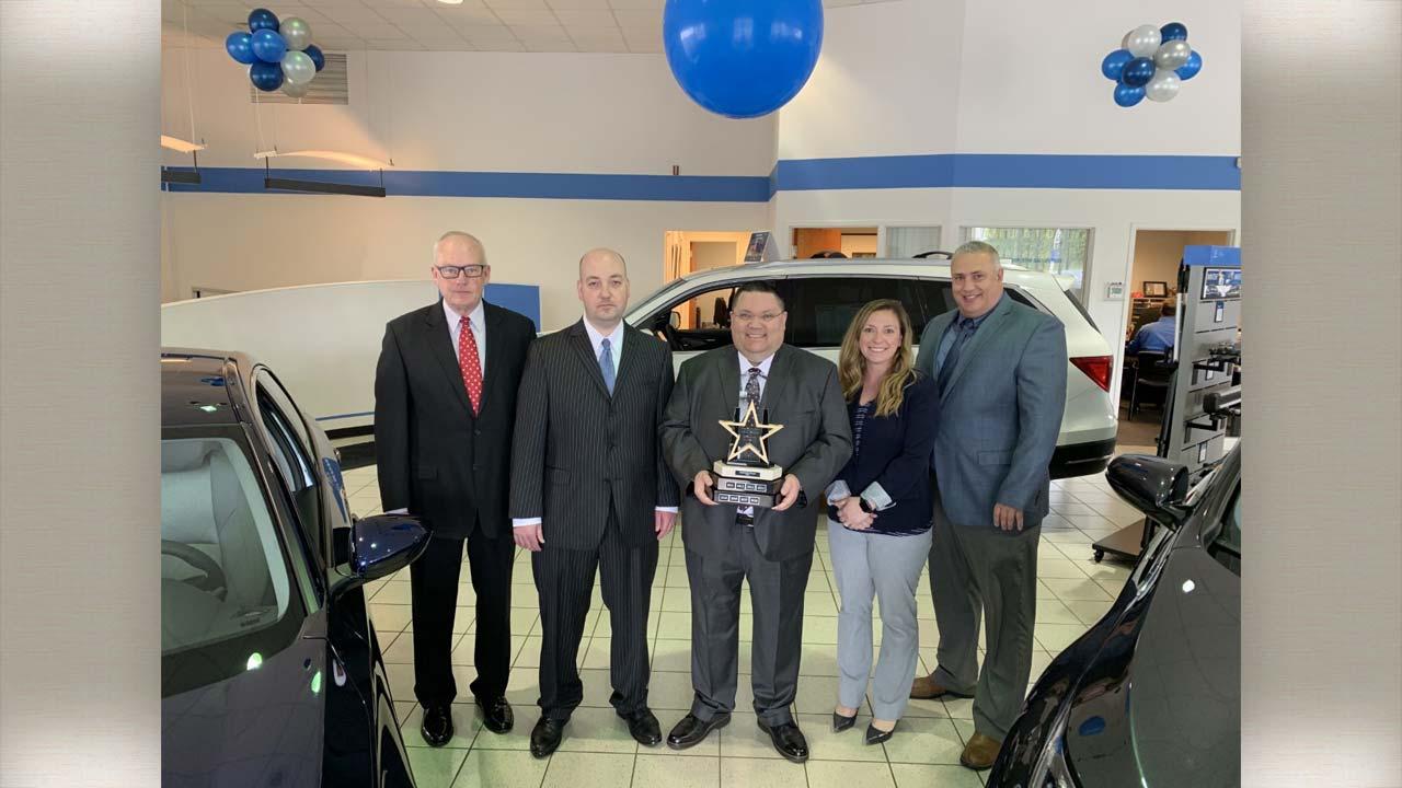 Apostolakis Honda wins Council of Excellence Award